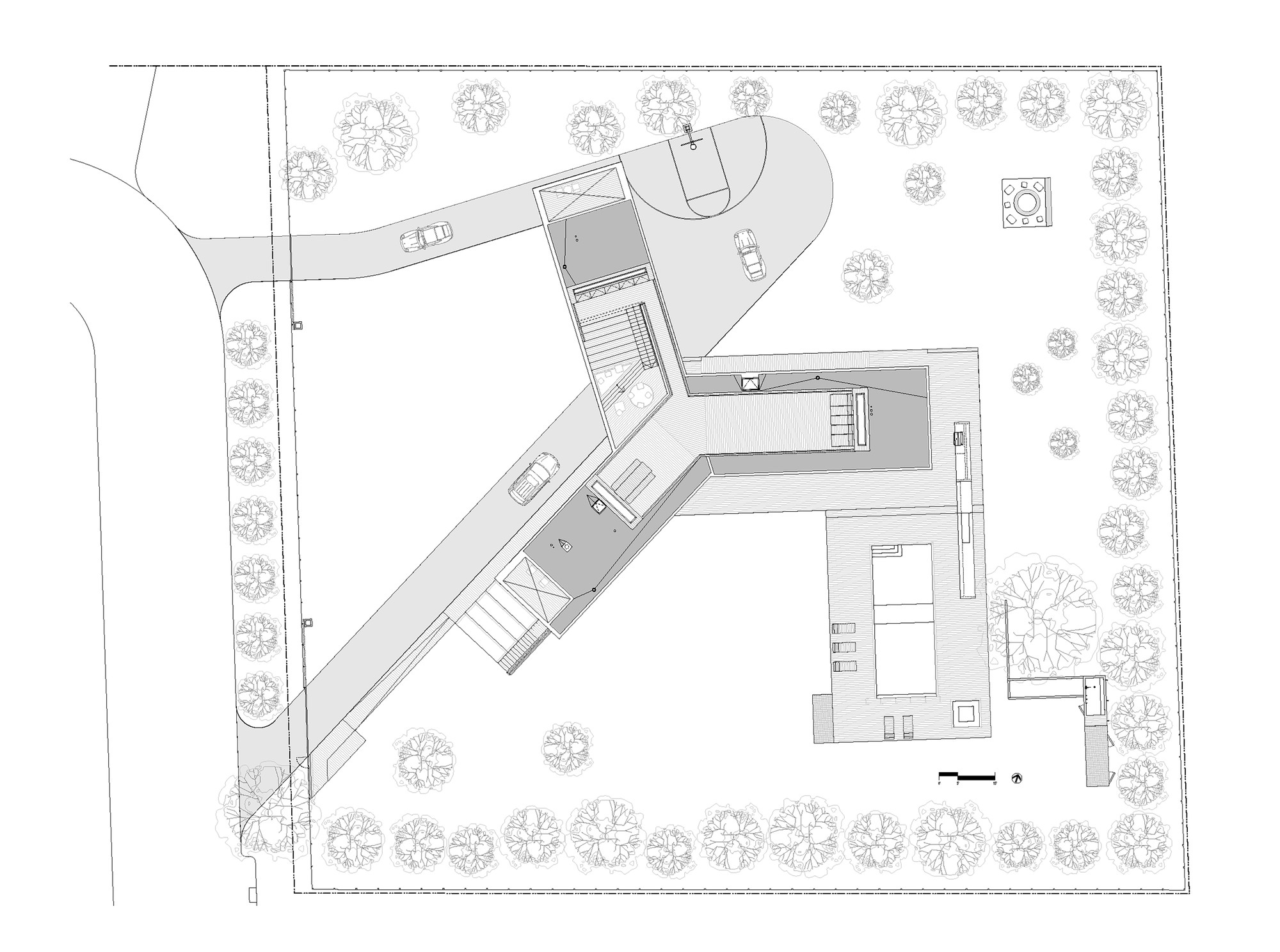 Site Plan Of House sml house site plan