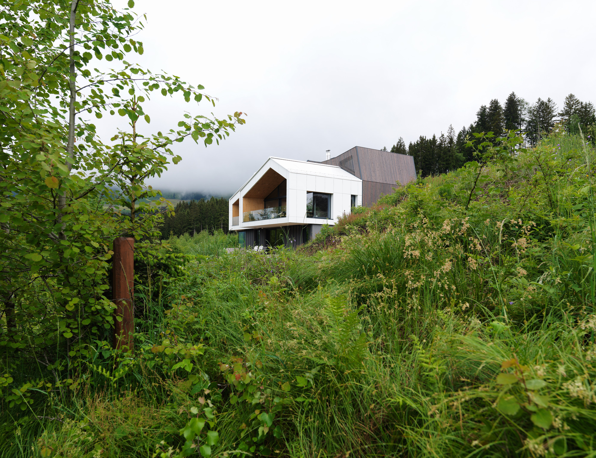 Mountain view house sono arhitekti archdaily for Mtn house