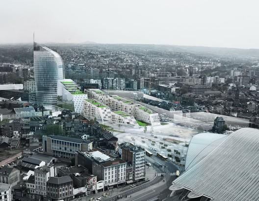 Urban Context. Image Courtesy of A2M