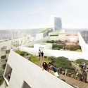 Roof Garden. Image Courtesy of A2M