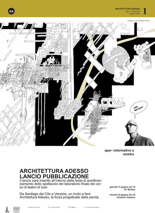 Lanzamiento y muestra de publicación 'Architettura Adesso' / Italia