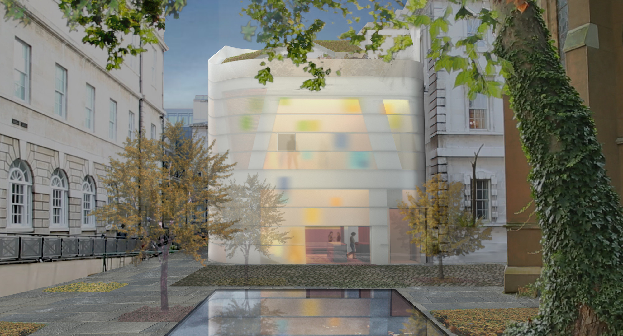 Steven Holl Breaks Ground on Maggie's Centre Barts in London, © Steven Holl Architects