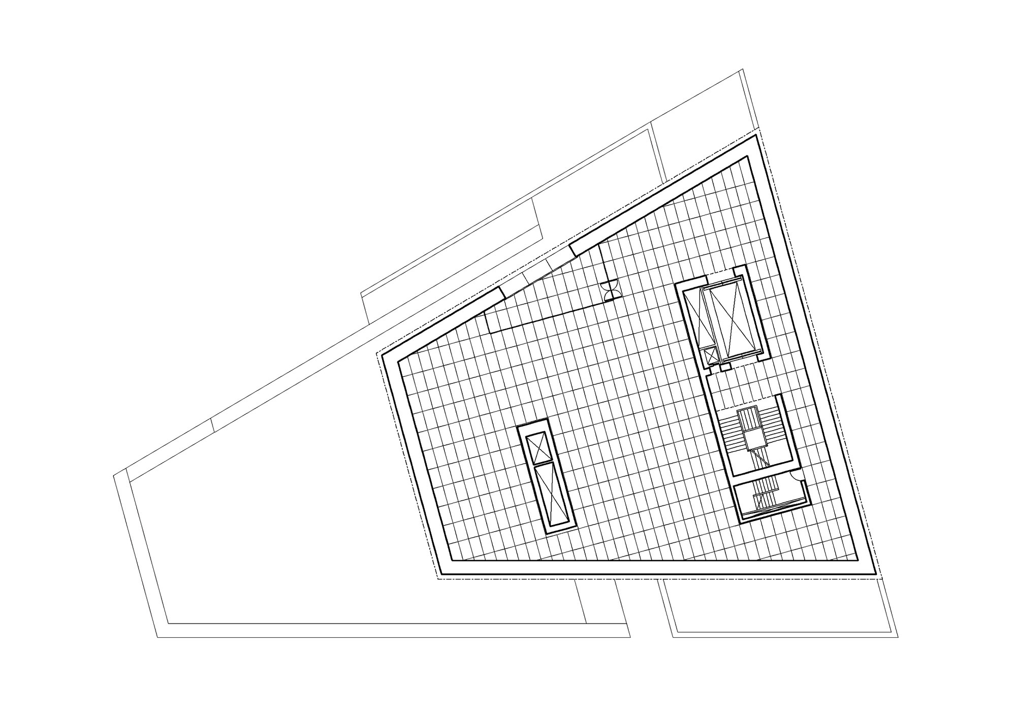 Second Floor Plan © David Chipperfield Architects