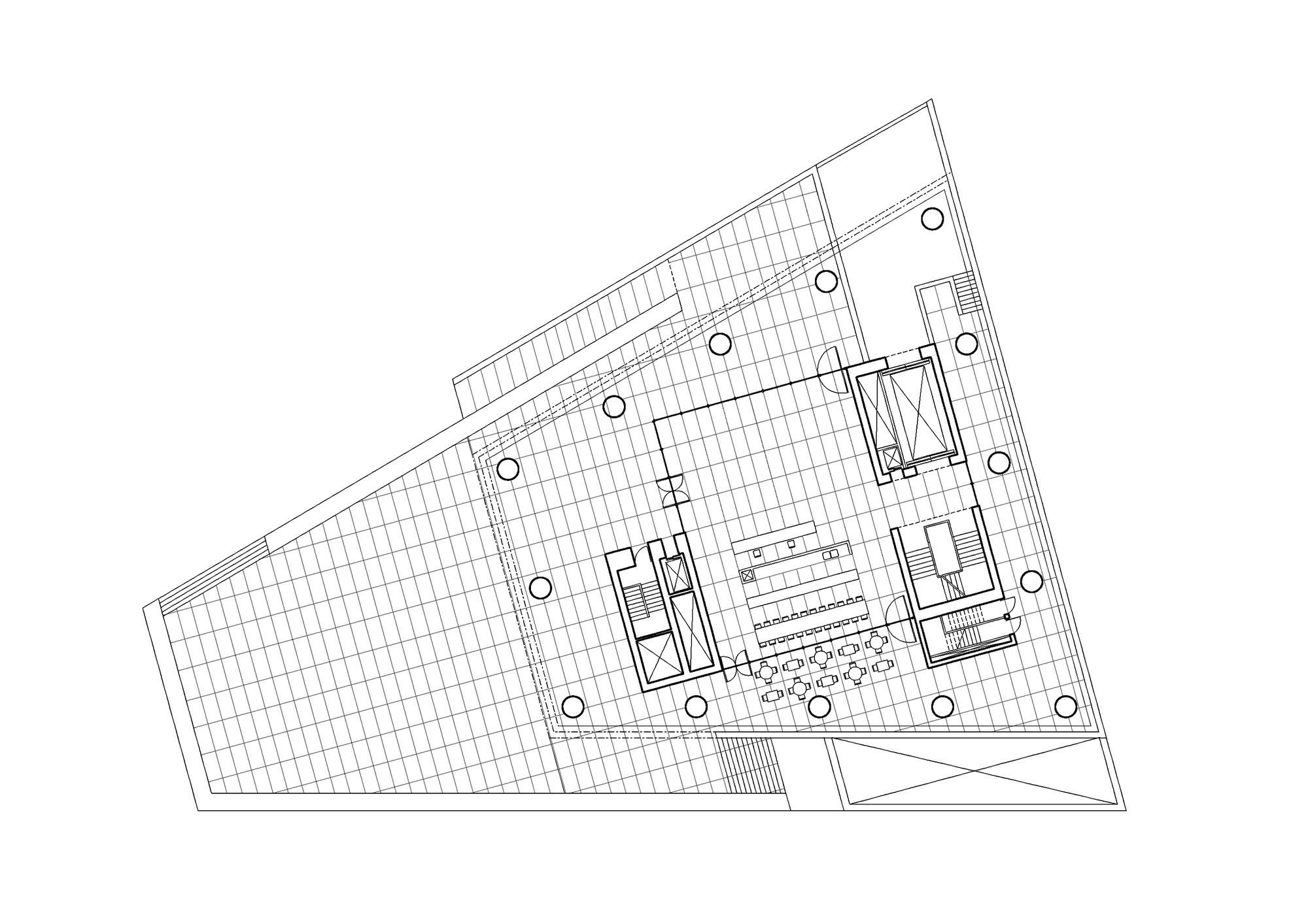 Ground Floor Plan © David Chipperfield Architects