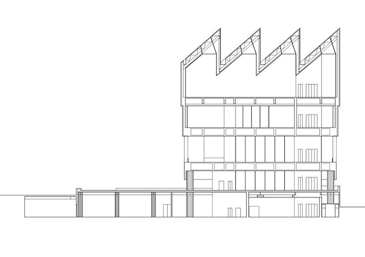 Section  © David Chipperfield Architects