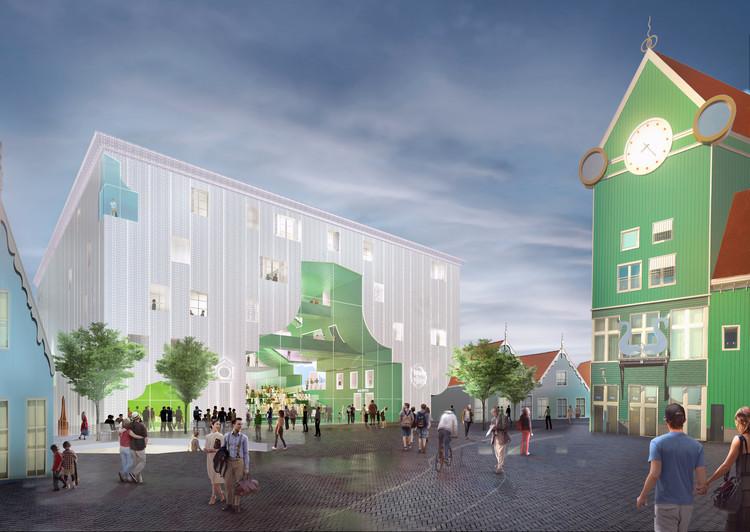 MVRDV gana el concurso para diseñar 'Zaanstad Cultural Cluster', © MVRDV