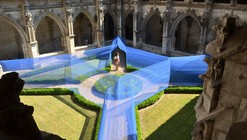 Atelier YokYok Designs an Enchanting String Installation in Cahors