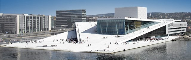 Exhibition: SNØHETTA - WORLD ARCHITECTURE, Oslo Opera by Snøhetta, Nowaye. Photo: Christopher Hagelund, Formdesign.no