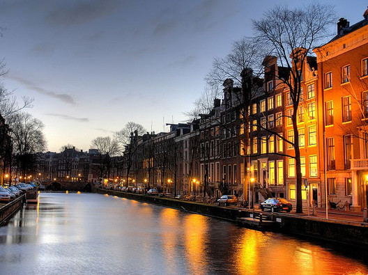 Amsterdam. Photo via Flickr CC User MarcelGermain.