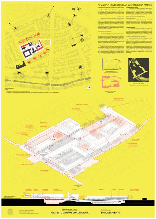 Lámina #01. Image Cortesia de Beals + Lyon Arquitectos