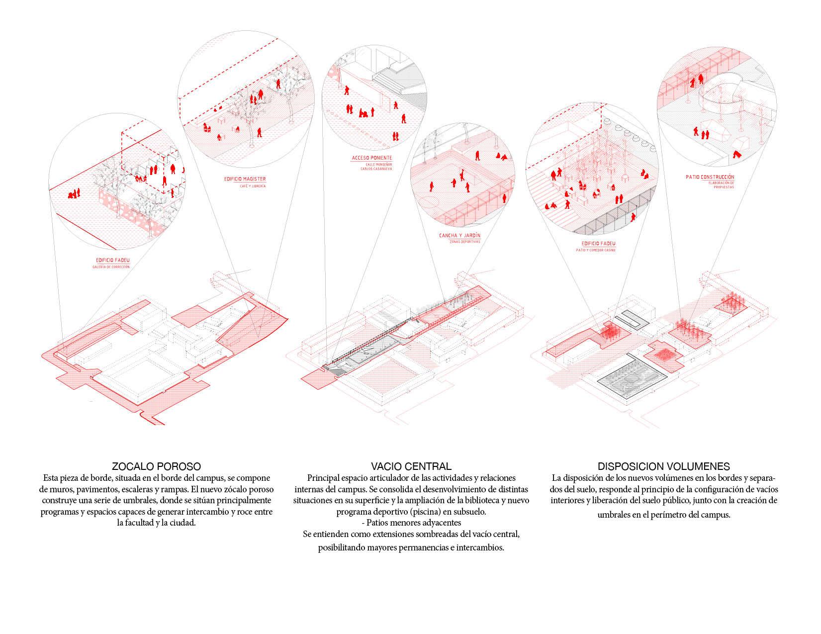 Plan Maestro. Image Cortesia de Beals + Lyon Arquitectos