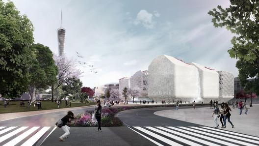 Guangzhou Science Museum. Image Courtesy of Nieto Sobejano Arquitectos
