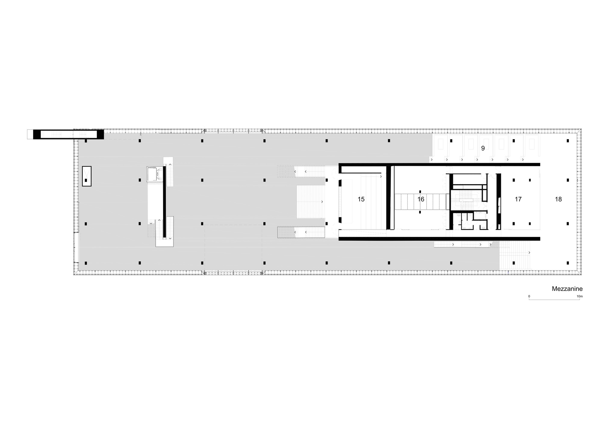 Gallery of garage museum of contemporary art oma 36 for Garage mezzanine plans