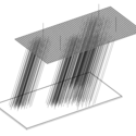 Axonometric View of Flood. Image Courtesy of Alban Guého