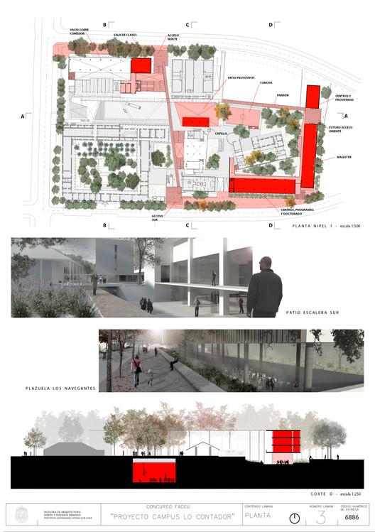 Lámina #03. Image Cortesia de Baixas & del Río Arquitectos