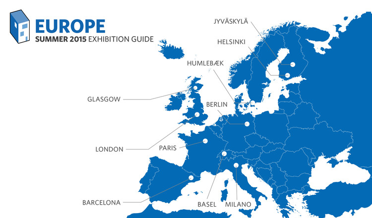 2015 European Summer Exhibition Guide