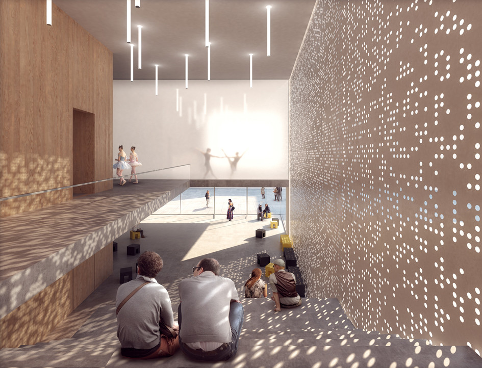 Foyer And Entryways University : Hpp selected to redesign cologne s university of music and