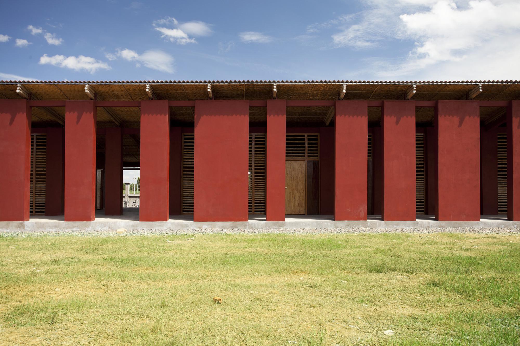 Secondary School in Cambodia / Architetti senza frontiere Italia, © Bernardo Salce