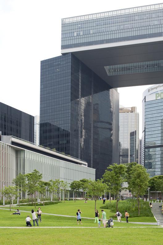 Sede do Governo HKSAR.  Imagem Cortesia de Rocco Design