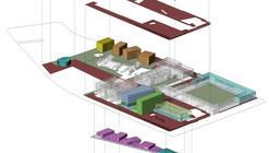 Lyon Bosch Arquitectos + Bresciani + Martic, tercer lugar en concurso de plan maestro Campus Lo Contador