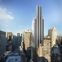 425 Park Avenue in Local Context. Image © Visualhouse for Foster + Partners