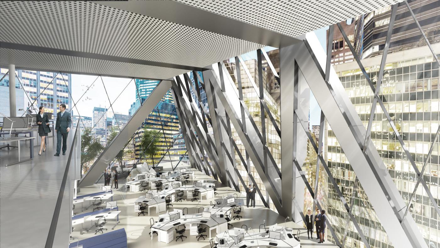Louis Kahn Floor Plans Gallery Of Foster Partners Break Ground On 425 Park