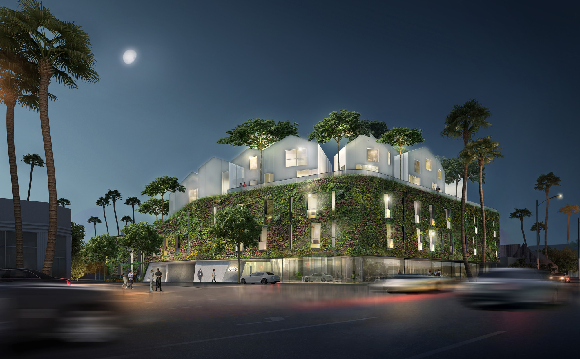 MAD Architects Unveil Their First US Residential Project, © MAD Architects