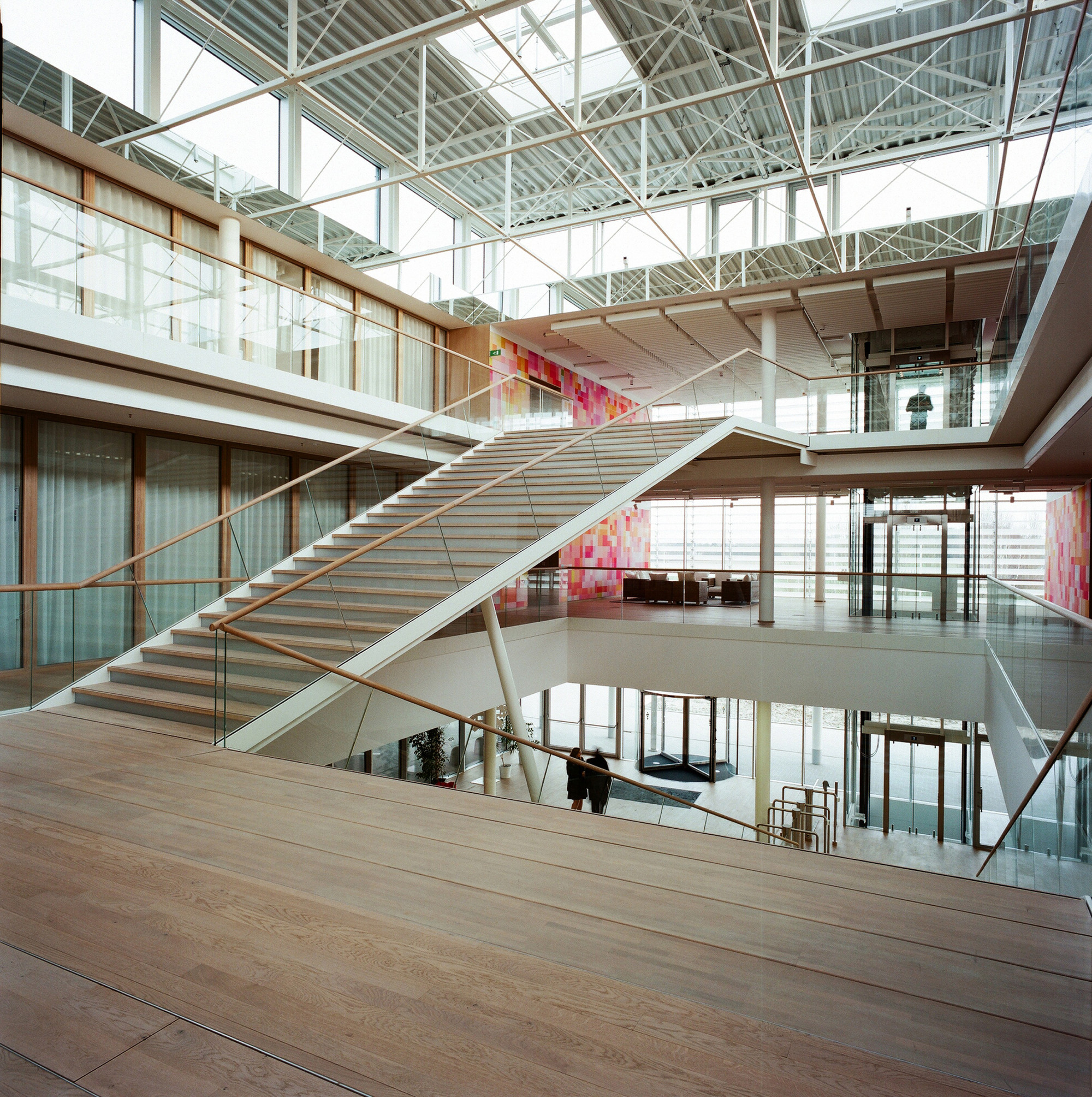 Head Office of AGC Glass Europe,© Marie-Françoise Plissart