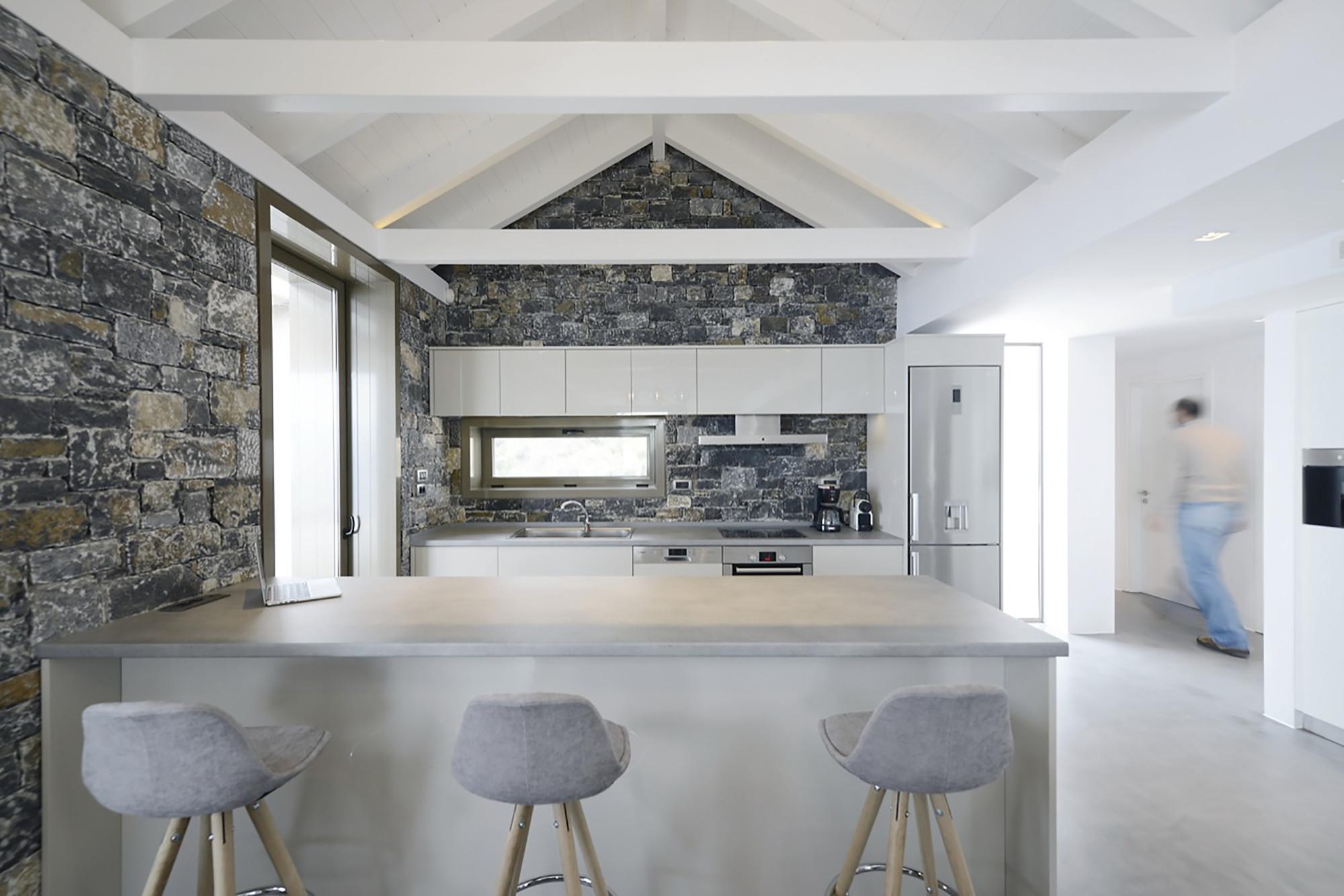 Gallery of villa melana valia foufa panagiotis for Greek kitchen designs