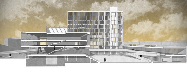 2º y 3º Lugar: Concurso para diseño del nuevo Edificio Consistorial de Punta Arenas