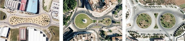 Badajoz, Alcobendas y Valencia, mitosis de rotondas. Image Cortesía de Nación Rotonda