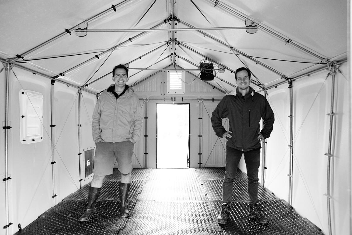 Sam Brisendine and Scott Key. Image Courtesy of Emergency Floor