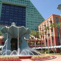 Michael Graves' Dolphin Resort at Walt Disney World. Image © James Cornetet - critiquethis.us