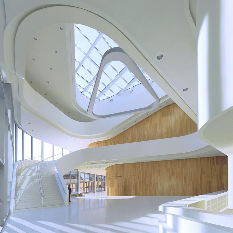 Montforthaus en Feldkirch / HASCHER JEHLE Architektur + mitiska wäger architekten, © Svenja Bockhop