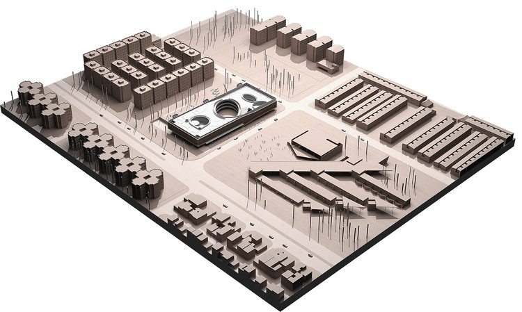 Maqueta digital. Image Cortesia de STUDIOGRAM