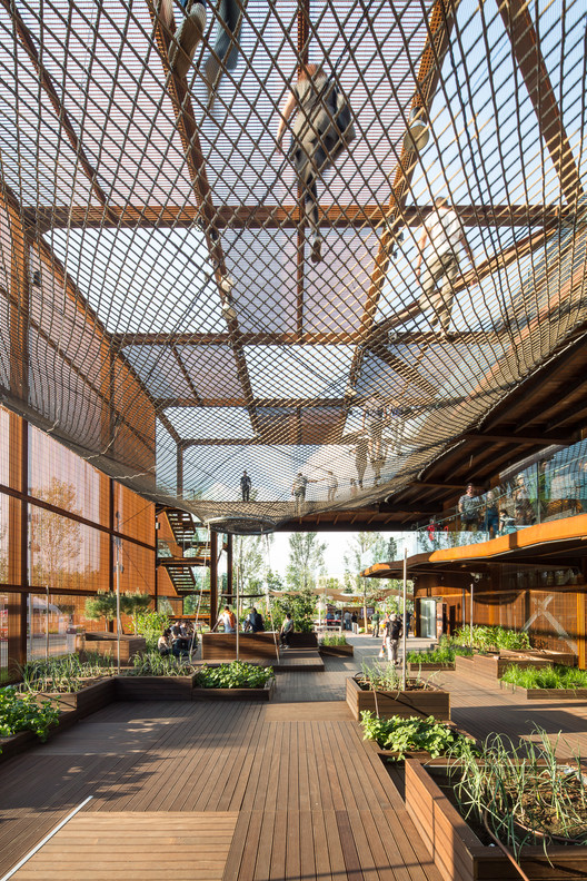 Brazil Pavilion – Milan Expo 2015 / Studio Arthur Casas + Atelier Marko Brajovic. Imagen © Filippo Poli