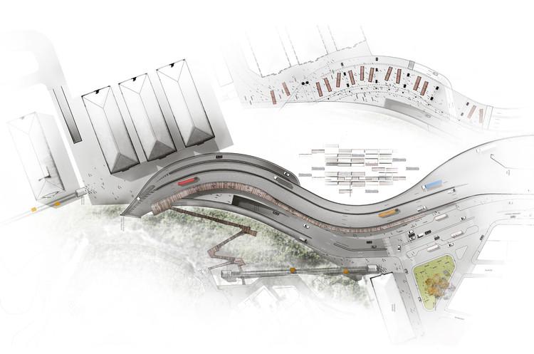 Primer Lugar / Mathias Klotz Germain (Arquitecto Titular). Image Cortesía de EPV