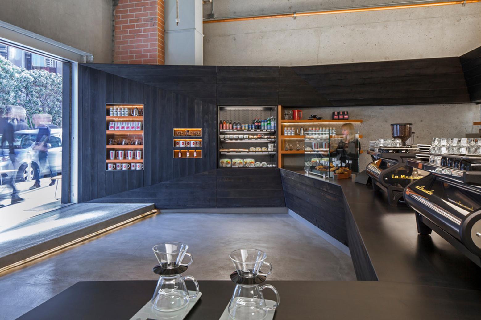 Coffee Bar Kearny Jones Haydu Archdaily