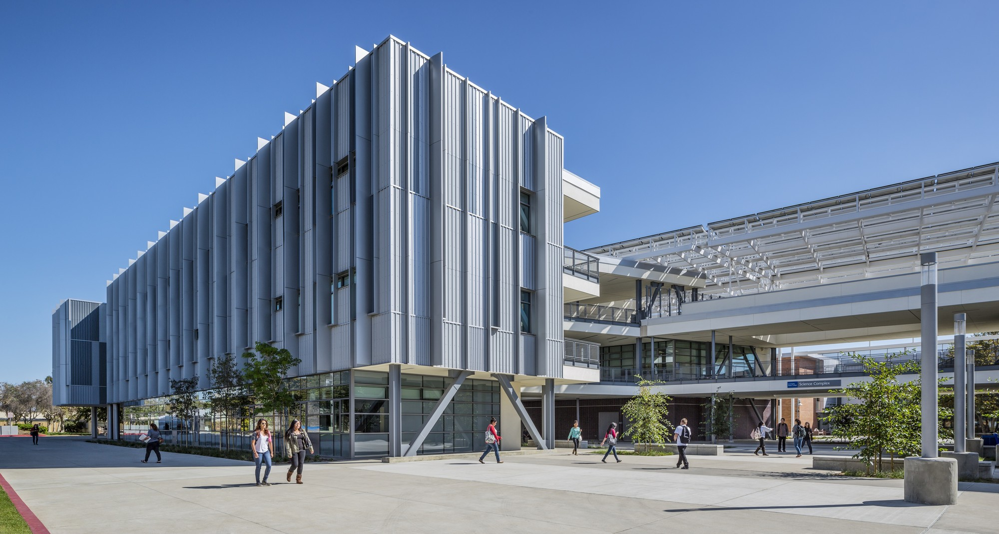 Harbor College Science Complex. Image © Tim Griffith