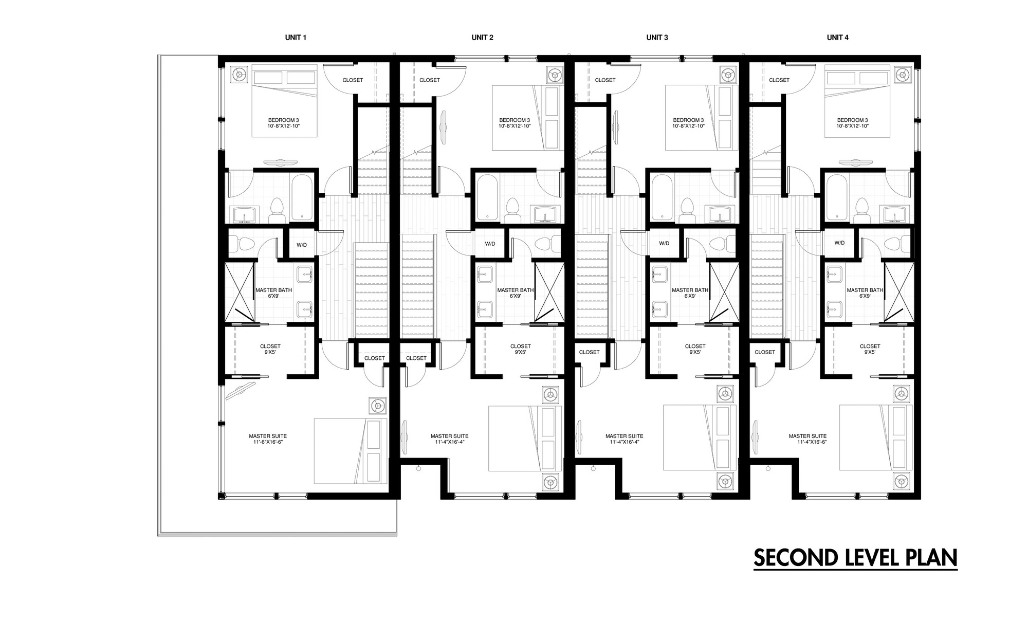 Row House Plans on small house plans with 3 car garage 1 floor
