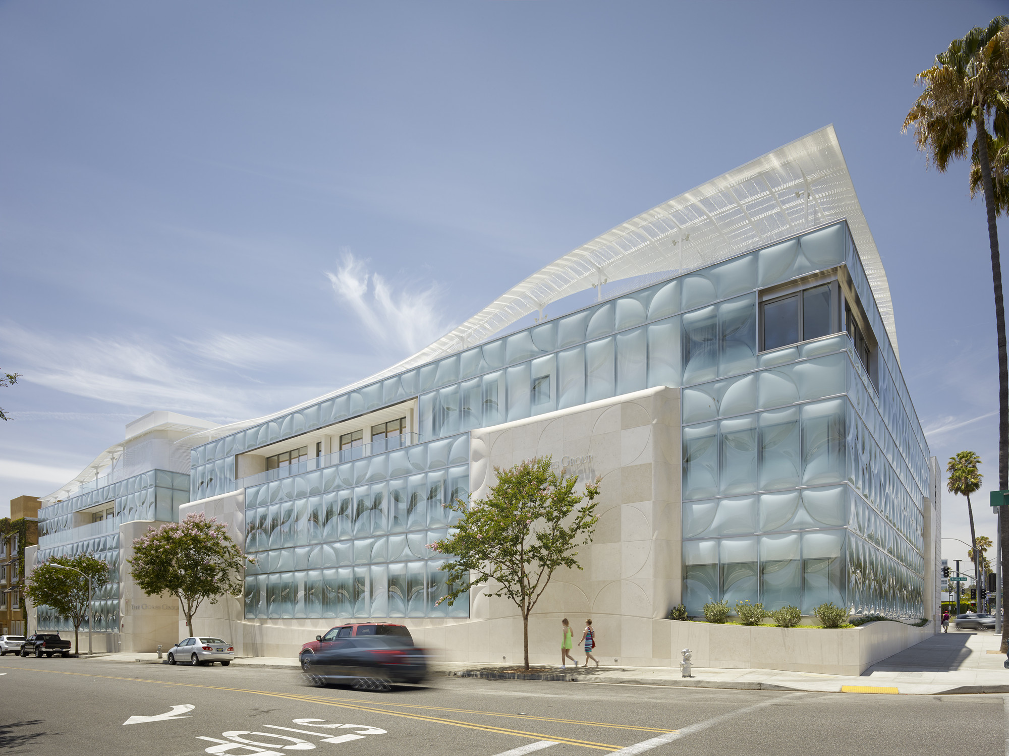 The Gores Group Headquarters. Image Courtesy of Belzberg Architects Group