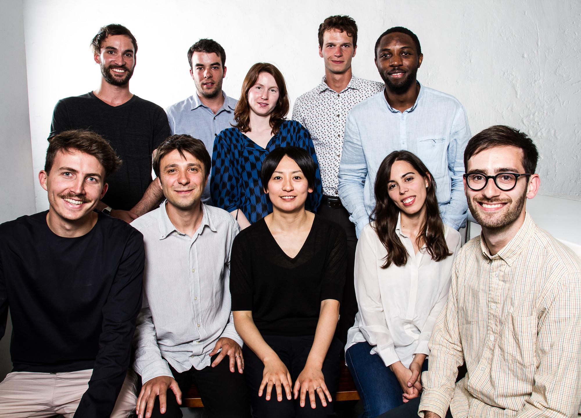 Moreau Kusunoki Architectes (competition team). Image Courtesy of Moreau Kusunoki Architectes