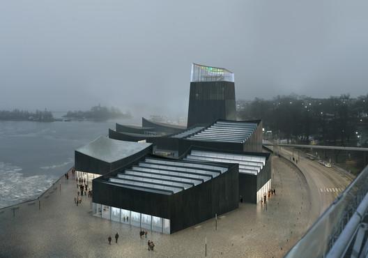 Propuesta ganadora. Image © Moreau Kusunoki Architectes / Guggenheim