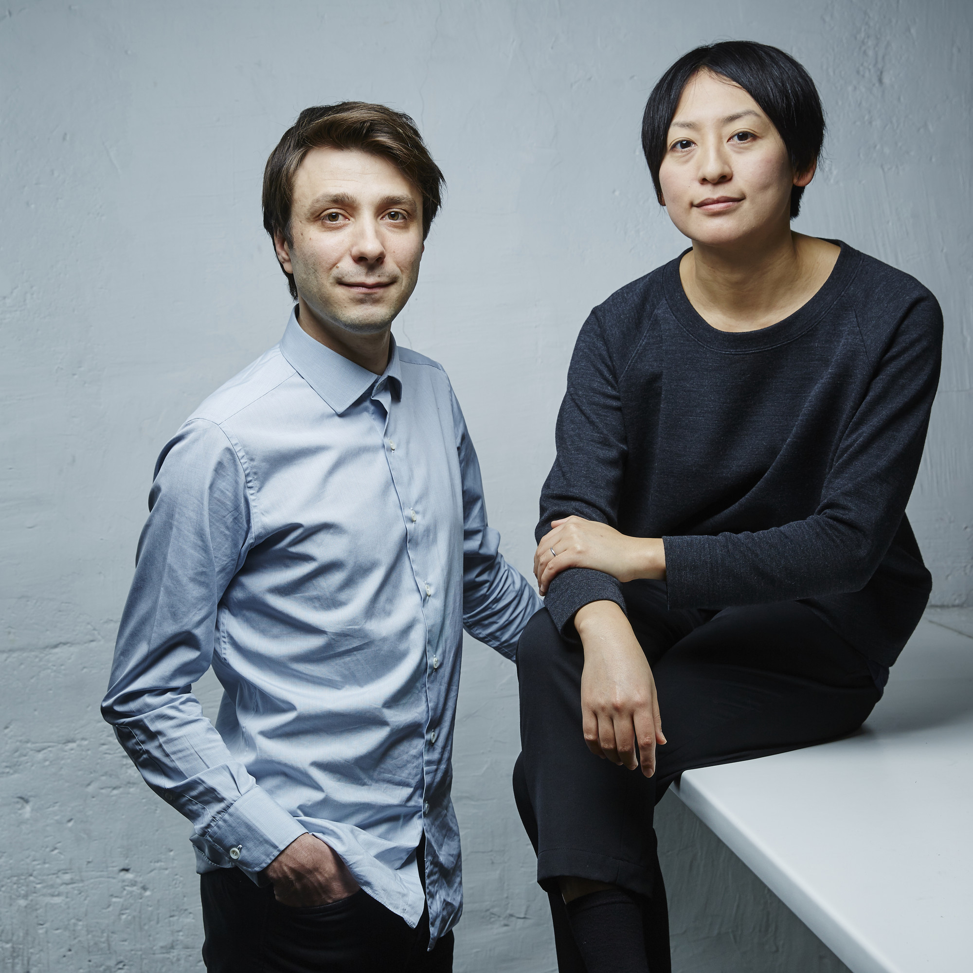 Nicolas Moreau y Hiroko Kusunoki . Image Cortesia de Moreau Kusunoki Architectes