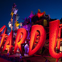 Neon Museum featuring more than 150 unrestored signs, Las Vegas. Image © Neon Museum, www.neonmuseum.org