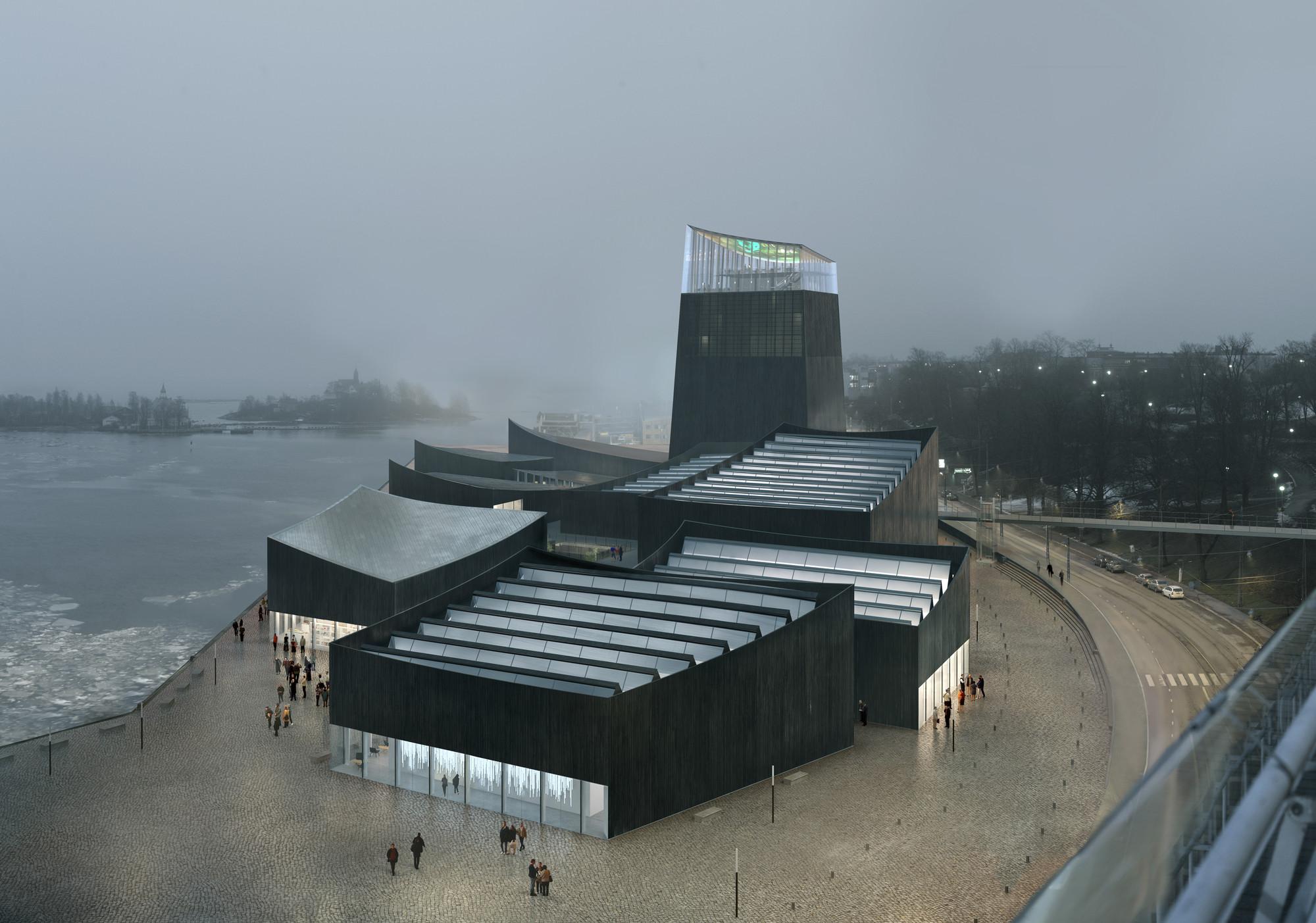 """Art in the City"", propuesta ganadora. Image © Moreau Kusunoki Architectes / Guggenheim"