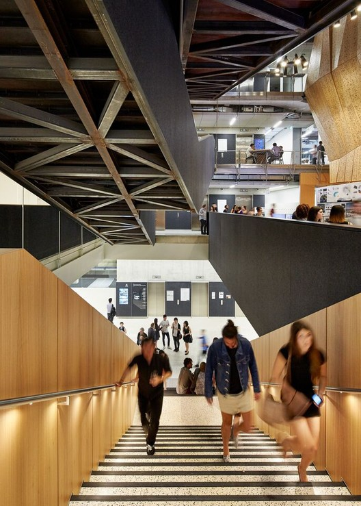 Melbourne School of Design, The University of Melbourne; Melbourne / John Wardle Architects y NADAAA en colaboración. Imagen cortesía de INSIDE