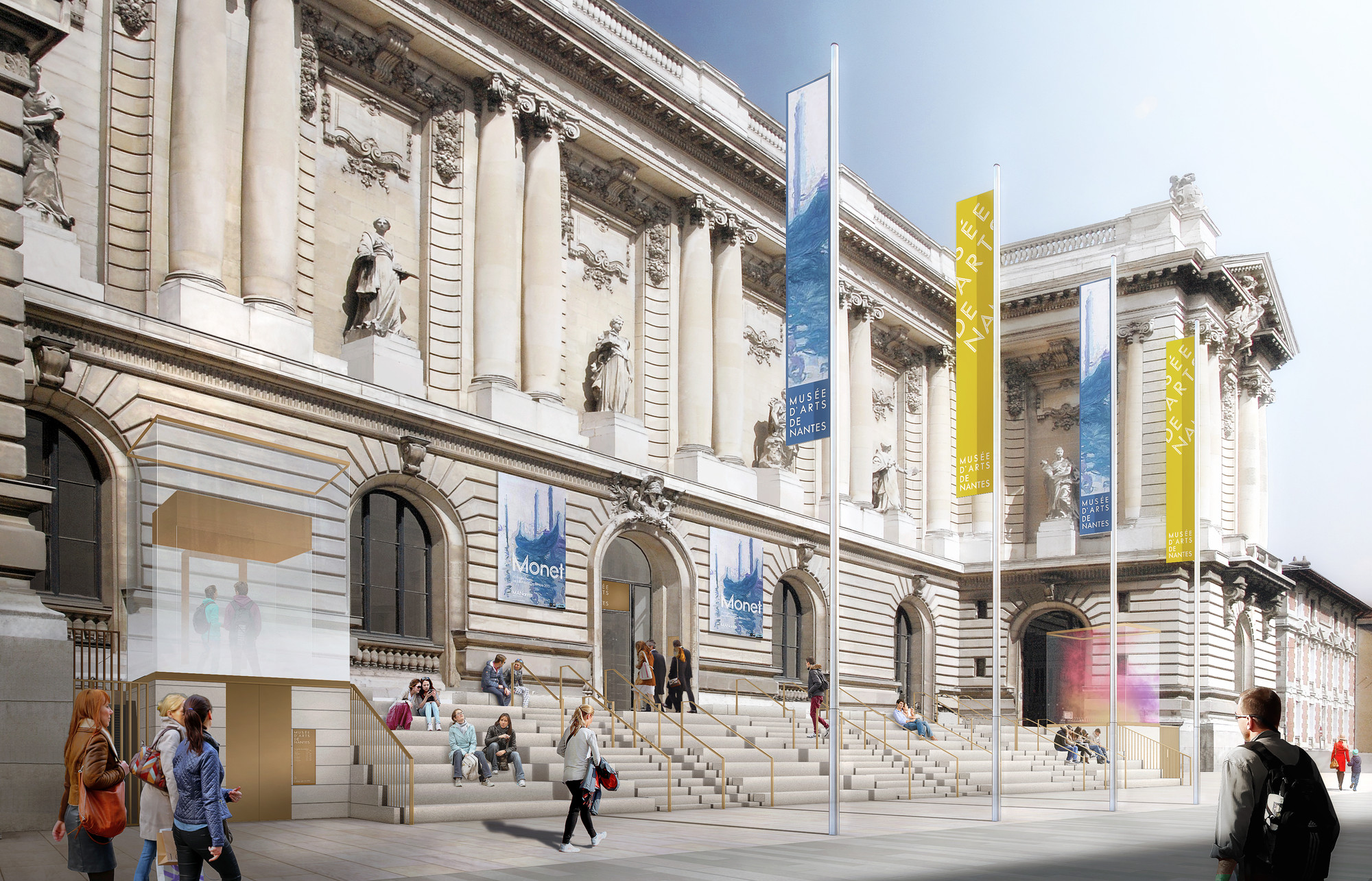 Video stanton williams explain their design for the nantes mus e des beaux arts archdaily - Musee des beaux arts nantes ...