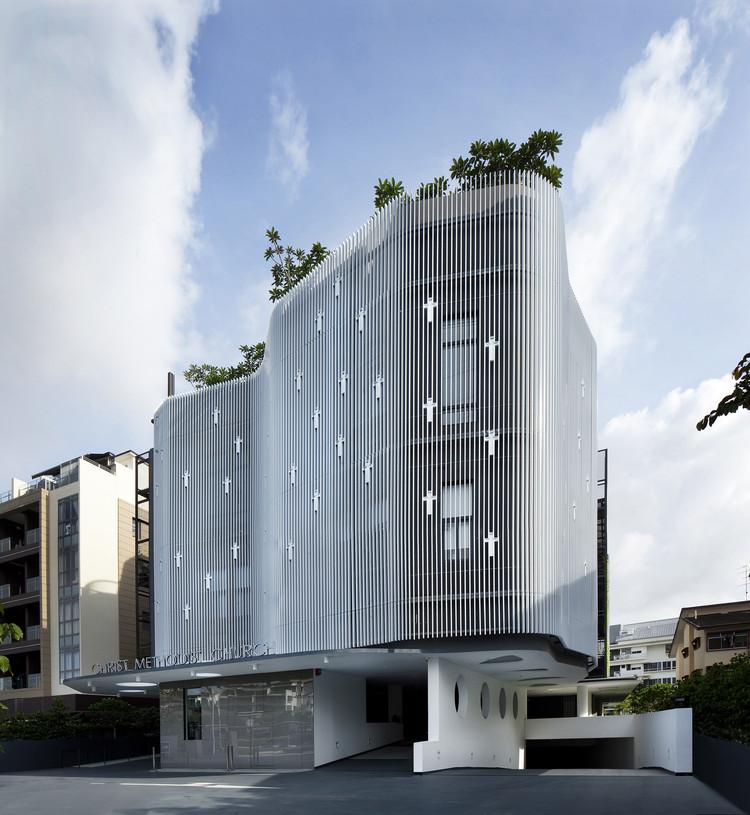 Iglesia metodista cristiana  / K2LD Architects, © Patrick Bingham Hall