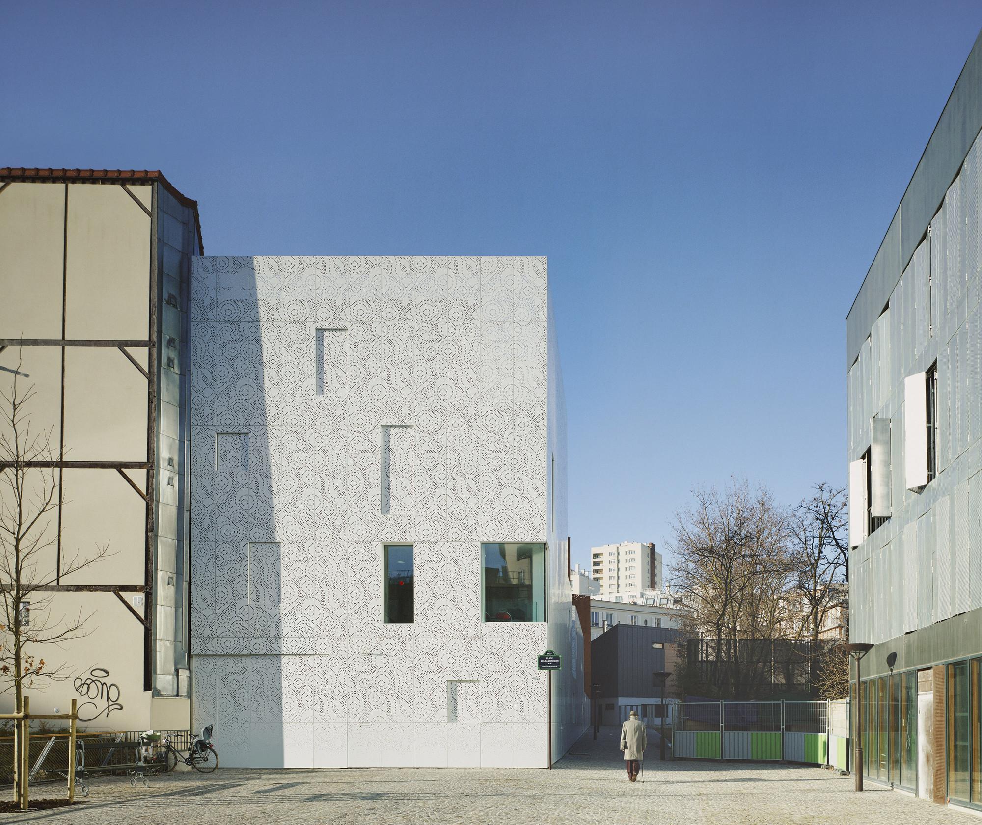 Creche des Orteaux / Avenier Cornejo Architectes, © Julien Lanoo